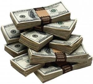 moneypiles